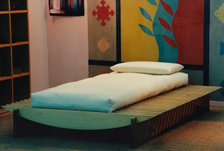 prototipo letto barca a secco
