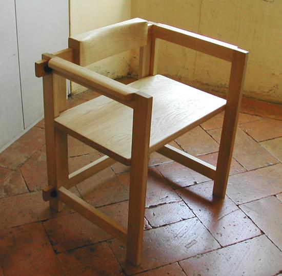 Sedia in Rovere